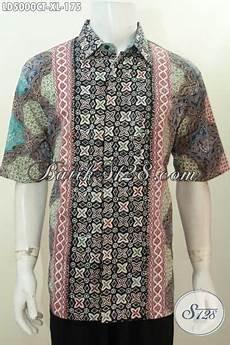 jual seragam kerja pegawai bahan batik halus motif kombinasi baju batik proses cap tulis untuk