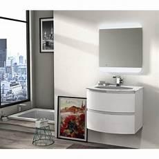 mobile bagno 70 baden haus mobile da bagno sospeso 70 cm vague bianco
