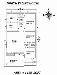 house plans with vastu north facing 28 x50 marvelous 3bhk north facing house plan as per