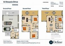 3 story floor plans 3 story real estate floor plan