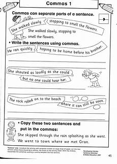 punctuation worksheets with commas 20923 mrs beecher the april 2011