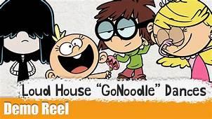 Loud House GoNoodle Dances  Animation Demo Reel YouTube
