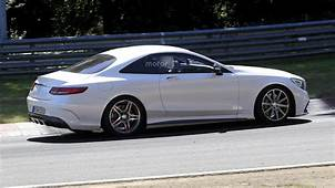 Next Gen Mercedes SL Returns Disguised As Shorter S63 Coupe
