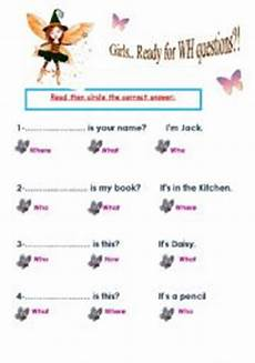grade three wh questions esl worksheet by batool26