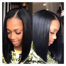 bob hairstyle sew in