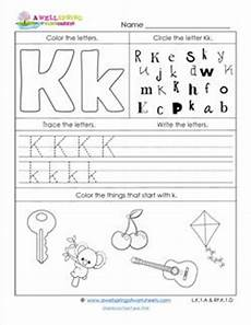 letter k worksheets 23175 worksheets by subject a wellspring of worksheets