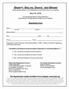 academy registration form templates find word templates