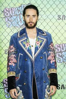 jared leto in gucci at the quot suicide squad quot world premiere