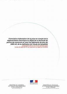 Troc Echange Attestation Bbio Rt2012 Pour Permis De