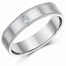 5mm palladium 950 diamond wedding ring band palladium rings at elma uk jewellery