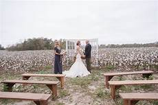cotton field winter wedding ideas ceremony decor field wedding cotton fields wedding