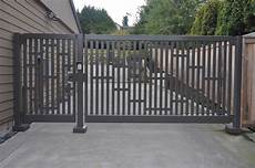 swing gate single swing gate with custom design elements and matching