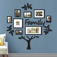 New Family Tree Collage Photo Picture Frame Set Plaque