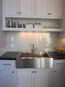 Glass Subway Tiles For Kitchen Backsplash Gray Subway Tile Backsplash Design Ideas