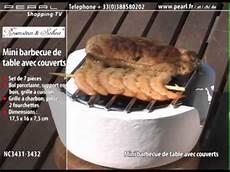nc3431 mini barbecue de table avec couverts
