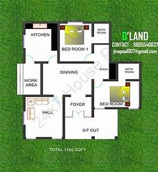 2 bedroom house plans kerala style small plot 2 bedroom kerala home plan below 1500 sqft
