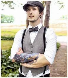 Costume De Mari 233 Mariage Suspenders Fashion Vintage