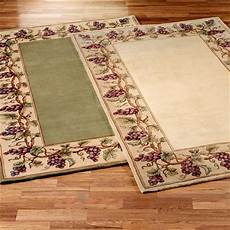 Kitchen Area Rugs With Fruit by Grapes Napa Border Area Rugs