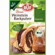 Alternative Zu Backpulver - glutenfreies bio weinstein backpulver ruf bio weinstein