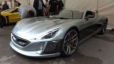 rimac concept one rimac concept one overview and hill start fos 2017