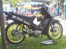 Modifikasi Shogun R 110 by Modifikasi Motor Suzuki Shogun 110 Cc Thecitycyclist