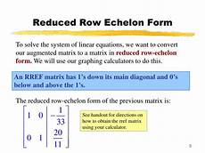 solving a system of linear equations given its augmented matrix calculator tessshebaylo