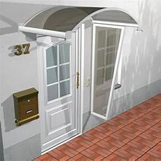 Vordach Hauseingang Mit Seitenteil - vordach seitenteil solitude aus glas und aluminium kaufen