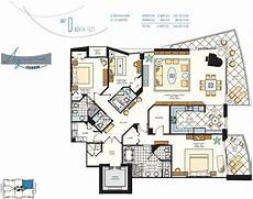 oceanfront house plans azure unit 307 3 bedroom 3 5 bath luxury beachfront condo