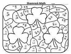 s day math worksheets 20576 st s day math worksheets 1st st patricks day math center shamrock math
