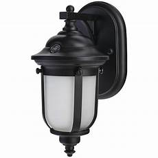 outdoor wall light dusk to dawn led home decorators collection led small exterior wall light with dusk to dawn control dw8411bk a
