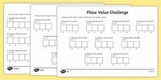 place value worksheets ks2 5163 place value challenge worksheet activity sheet place value