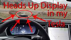 heads up display heads up display in my tesla model s navdy