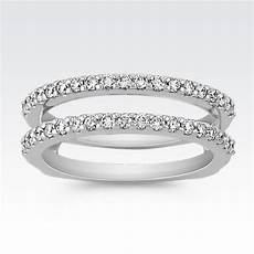 diamond solitaire engagement ring guard wedding ideas double band wedding ring