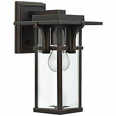 hinkley lighting manhattan outdoor wall lighting hinkley manhattan 11 3 4 quot high bronze outdoor wall light 4x268 ls plus
