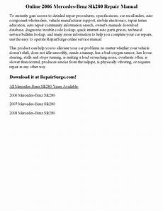 service repair manual free download 2006 saab 42133 windshield wipe control 2006 mercedes benz slk280 repair manual online by andrewguild999 issuu