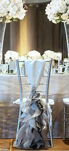 10 d 233 corations de chaises de mariage 224 tomber d 233 coration