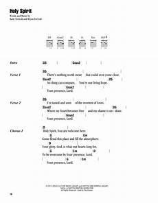 Spirit Malvorlagen Chords Holy Spirit Sheet Direct
