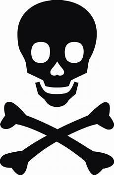 Skull And Crossbone Clipart skull and bones stencil clipart best