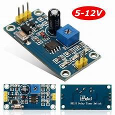 relais electrique 12v 30515 module relais temporis 233 dc 5 12v minuteur temporisateur r 233 glable 0 150 ne555 achat vente