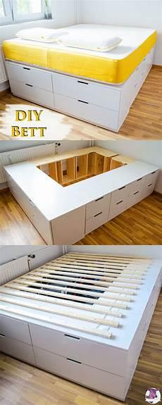 Bett Aus Ikea Möbeln Bauen - diy ikea hack plattform bett selber bauen aus ikea