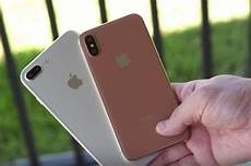 alleged iphone 7s plus vs iphone 8 dummy units compared in