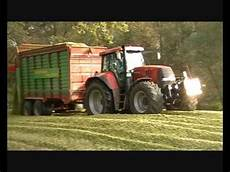Farmer Traktoren Im Einsatz Maisernte 2010 Maschine Vs