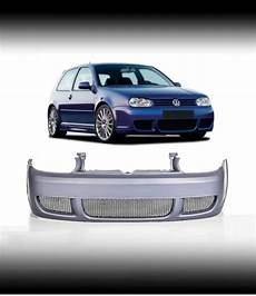painted r32 type look sport front bumper abs plastic vw