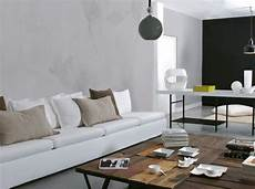 peinture effet beton avec les enduits effets de mati 232 re garantis salon