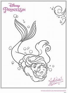 Ausmalbild Arielle Baby Ausmalbilder Arielle Die Meerjungfrau Top Kostenlos