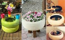 15 Perfekte Diy Garten Projekte Aus Alten Reifen