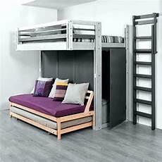 canape mezzanine nouveau lit superpose avec canape pour