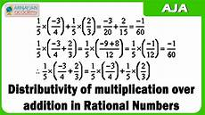 6 d distributivity of multiplication over addition in