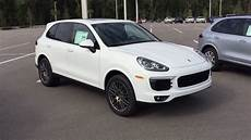 2017 Porsche Cayenne Platinum Edition And 2017 Porsche