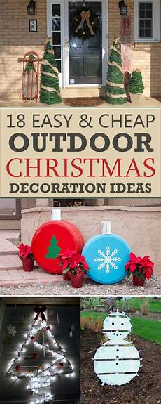 Outdoor Decorations Cheap by 18 Easy And Cheap Diy Outdoor Decoration Ideas